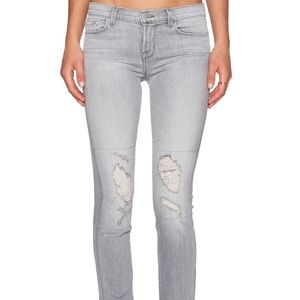 J Brand distressed rail jeans in Sweet wash, 27